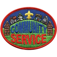 Community Service Patch