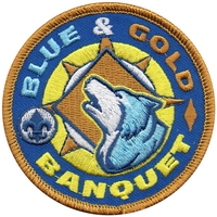 Blue and Gold Banquet Patch
