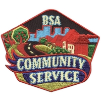 Community Service BSA Patch