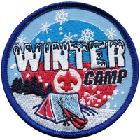 Winter Camp Patch
