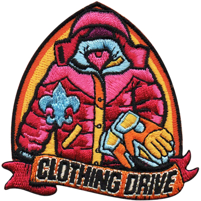 Clothing Drive Patch