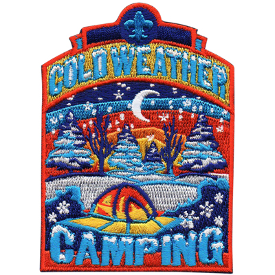 Cold Weather Camping Patch