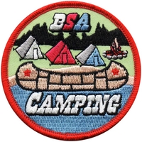 Camping BSA Patch