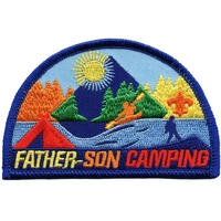 Father-Son Camping Patch