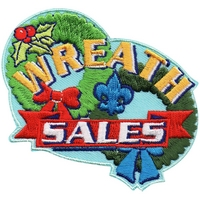 Wreath Sales Patch
