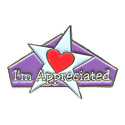 I'm Appreciated (Heart) Pin