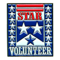 Star Volunteer Pin