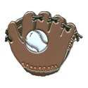 Baseball & Glove Pin