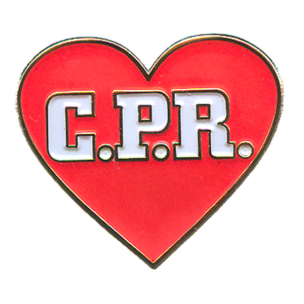 Pin By On C A R S: C.P.R. (Heart) Pin