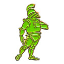 Green Knight (Standing) Pin