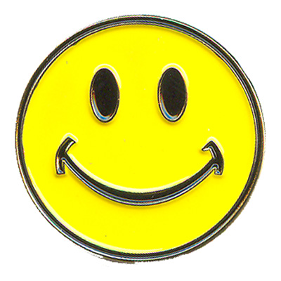 Smiley Face Pin