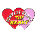 Service From  Heart Pin