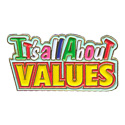 It's All About Values Pin