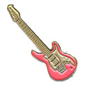 Electric Guitar Pin