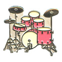 Drum Set Pin