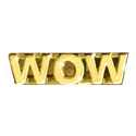 Wow - Text Pin