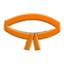 Orange Belt Pin