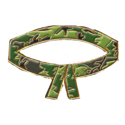 Camouflage (Camo) Belt Pin