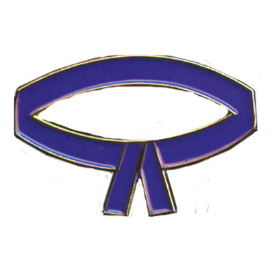 Purple Belt Pin