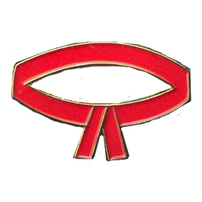 Red Belt Pin