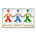 Every Girl Counts Pin