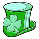 Shamrock Hat Pin