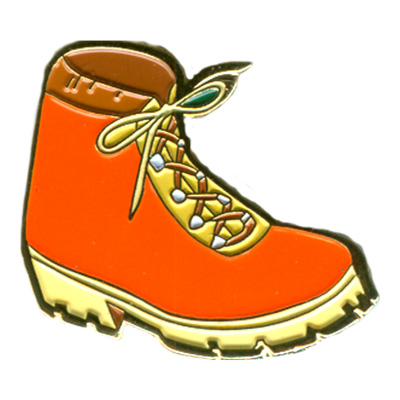 Hiking Boot Pin