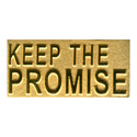 Keep The Promise (Gold) Pin