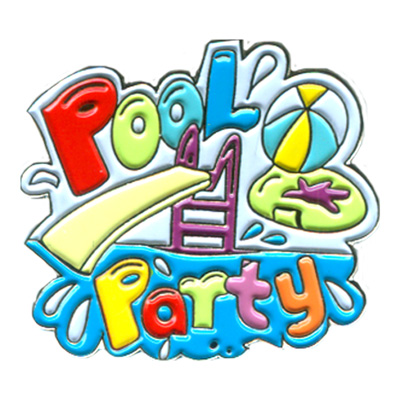 Pool Party Pin