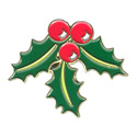 Holly Berries Pin