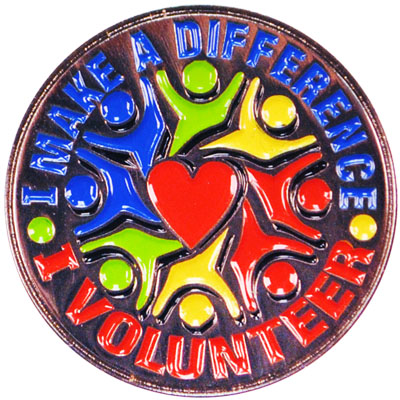 I Make A Difference Pin