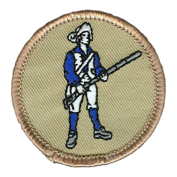 Glow-in-dark boy scout patches (#600) the contagion patrol patch.