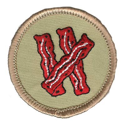 Bacon Patrol Patch