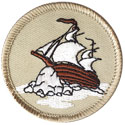 Rock Ship Patrol Patch