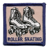 Roller Skating Patch