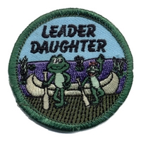 Leader Daughter-Frogs W/ Canoe