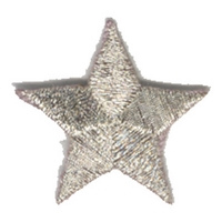 Star - Silver Metallic