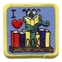 I Love Books- Book Worm
