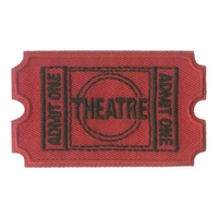 Theatre- Ticket, Admit One