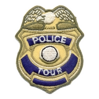 Police Tour (Badge)