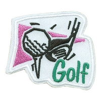 Golf (Tee W/Ball & Club)