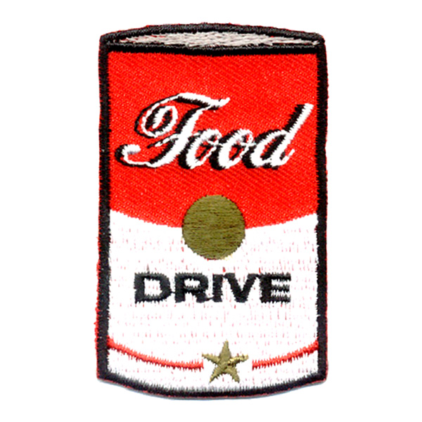 Food Drive Soup Can