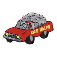 Car Wash - Red Car