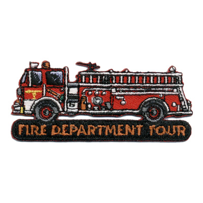 Fire Department Tour Patch