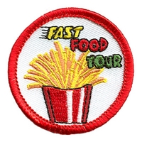Fast Food Tour (Fries) Patch