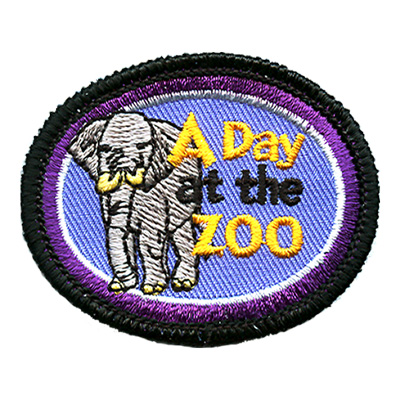 A Day At The Zoo- Elephant