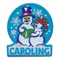 Caroling (Two Snow People)