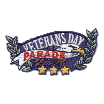 Veterans Day Parade Patch