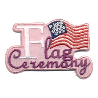 Flag Ceremony - Pink
