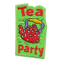 Tea Party (Red Tea Pot)